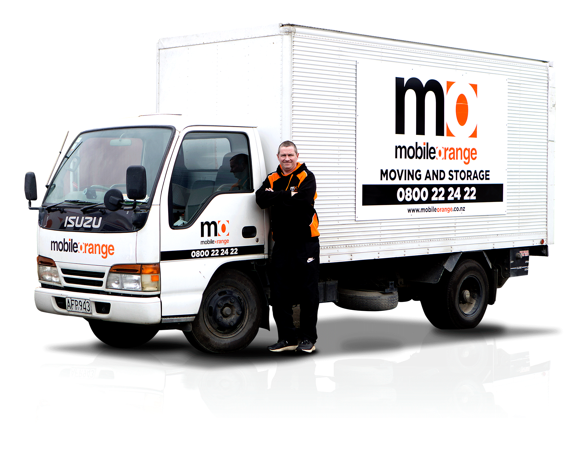 Neville-Truck, Mobile Orange Moving Storage, 561 Kaikorai Valley Road  Dunedin, 9011